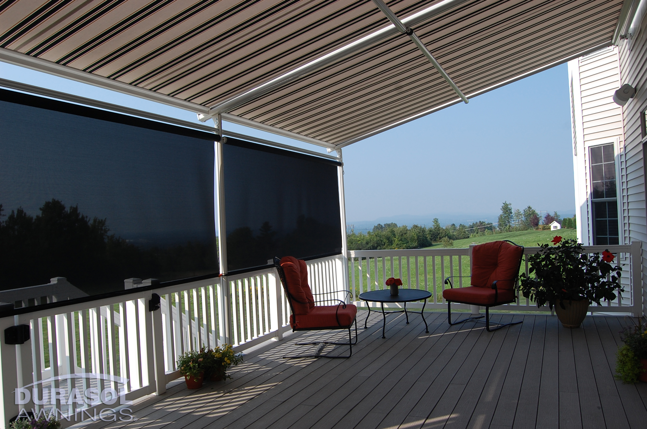 Exterior sun shades for windows - Click On Thumbnail To See Larger Image