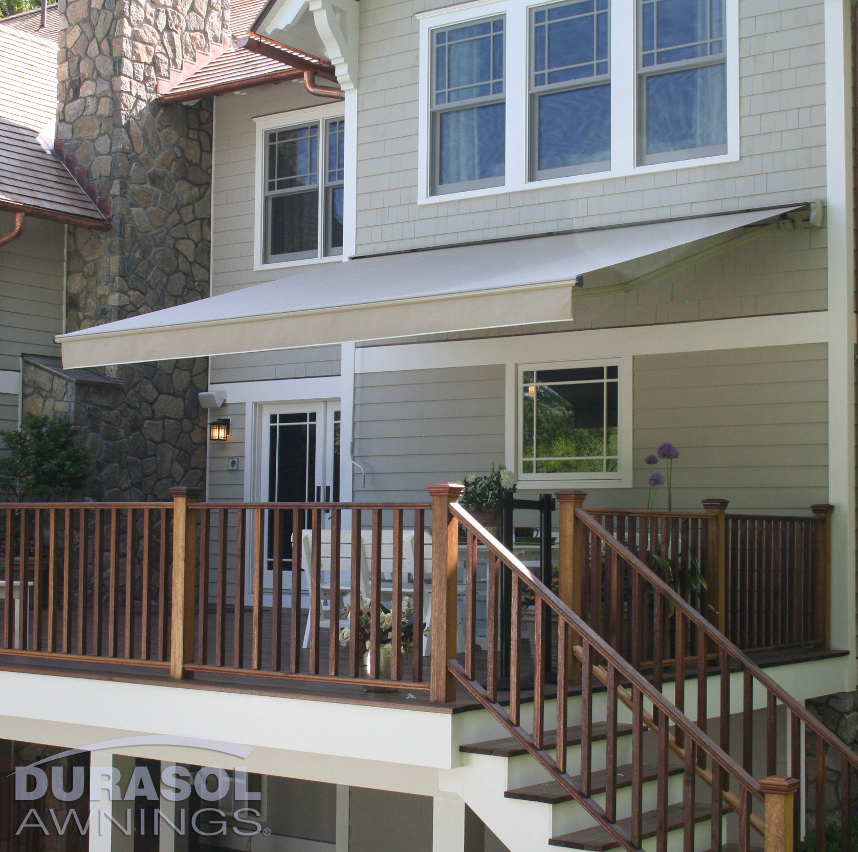 Deck Patio Exterior Outdoor Durasol Awnings