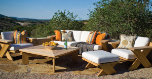 Outdoor fabric adds beauty to your home