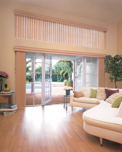 Cadence Vertical Blinds by Hunter Douglas
