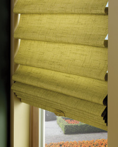 Energy Efficient Vignette Modern Roman Shades