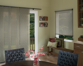 Large Sliding Glass Door Window Coverings Fairfield County