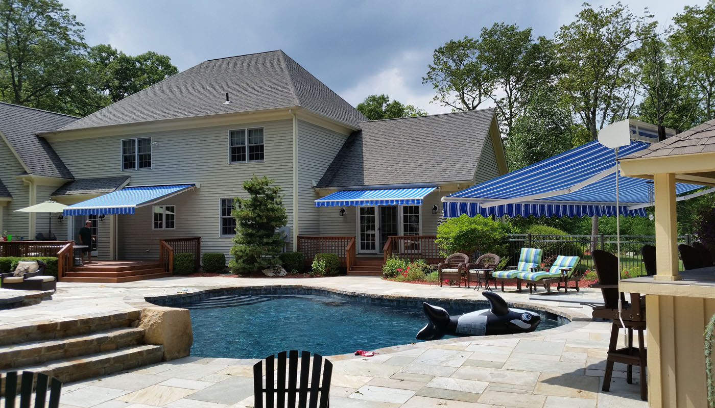 Durasol Exterior Awnings Outdoor Custom Awnings Milford Ct