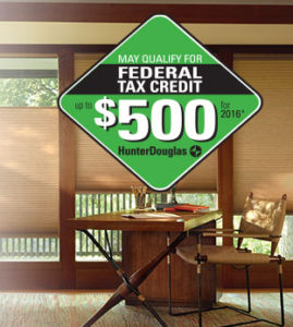 Federal Tax Credit for Shades