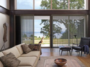 Luminette® Privacy Sheers in living Room