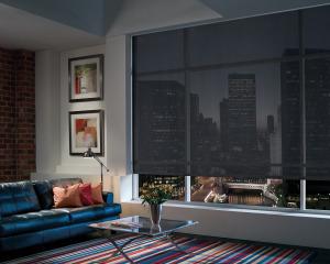 Media Room Window Treatments