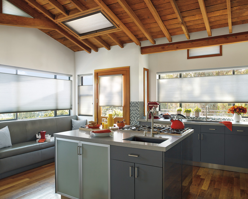 Kitchen - Honeycomb Shades