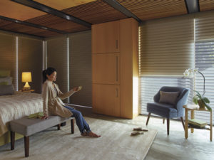 Nantucket™ Window Shadings with PowerView® Motorization